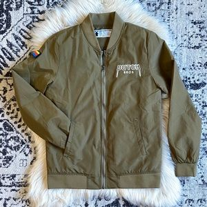 Dutch Bros bomber jacket